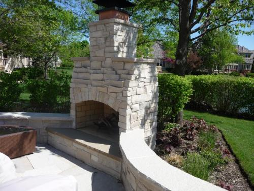 Fireplace - Natural Stone
